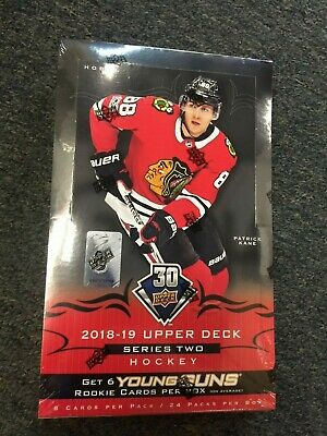 2018-19 Upper Deck Series Two Hockey Factory Sealed Hobby Box