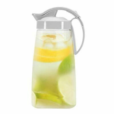 QuickPour Airtight Pitcher with Locking Spout Japanese Made - For Water, Coffee