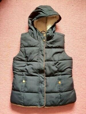 GIrls navy blue body warmer aged 12-13 years