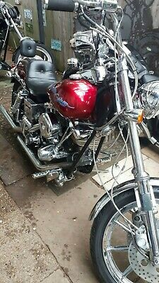 Harley-Davidson: Other 1973 FLH1200 A1 Harely Davidson...1984 Wideglide 1340, 73 new top end 88cin