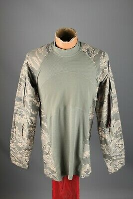 Men's NOS US Army Air Force Airman Massif Battle Shirt W Tags Size S Camo #7371