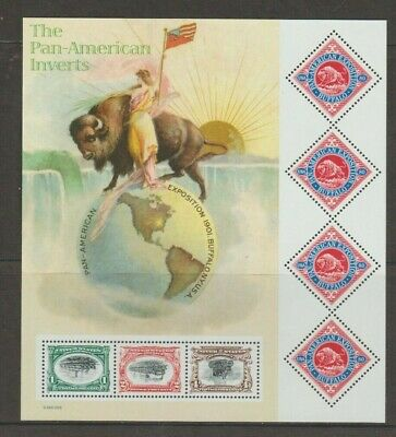 U.S. 2001 Sheet #3505, Pan American Inverts, 3 of $0.80 stamps, mNH Very Fine