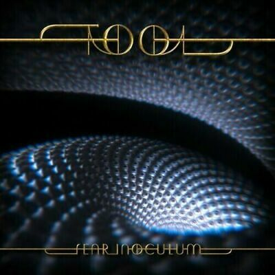 SIGNED Tool Fear Inoculum Alex GreyArtist CD Deluxe Edition
