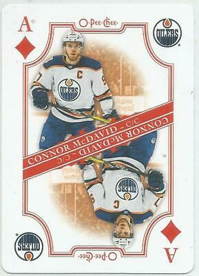 2019-20 O-Pee-Chee Playing Cards Connor McDavid