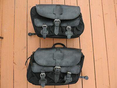 Harley Dyna Fxd Convertible Saddle-Bags