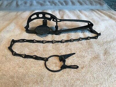 Vintage Rare Newhouse #81 1/2 Long Spring Trap Trapping Victor Sargent