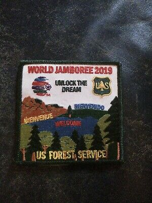 24th World Scout Jamboree 2019 US forestry service Patch Badge BSA USA WSJ