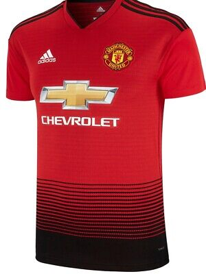 Manchester United  Home  Shirt 2018/19 Size  Small