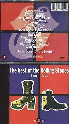 Abko cd The Best Of The Rolling Stones Jump Bakco  very good plus