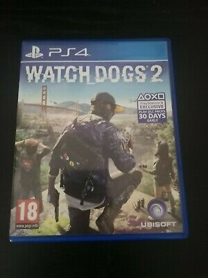 Watch Dogs 2 PlayStation 4 - Still in Great Condition!