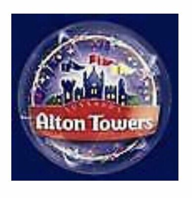 Alton Towers E-Tickets x 2 - Friday 4th October - See Details -