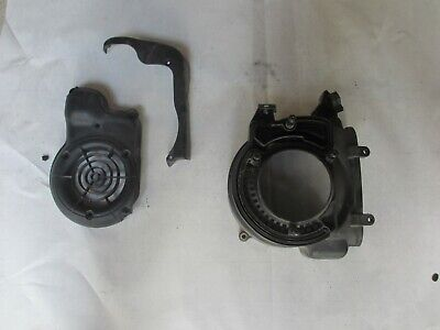 Vespa Lx50, Lx150 (And More) Oem Fan / Flywheel / Magneto Outer Covers (3 Parts)