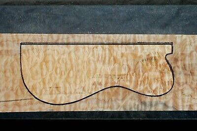 """Awesome Quilted Maple 22 7/8"""" X 8 1/4"""" X 2 5/16"""": Guitar, Luthier, Craft"""