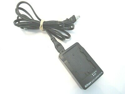 GENUINE OEM Nikon Quick Charger MH-18a Rechargeable EN-EL3 EN-EL3a EN-EL3e Model