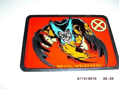1992 Marvel Wolverine Kodak Sticker Card