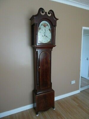 Grandfather clock  (moonroller ) oliver willington