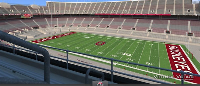 2 Great football tickets for Ohio State University vs Michigan State University