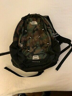 "North Face Jester Back Pack ""Army Camo"""