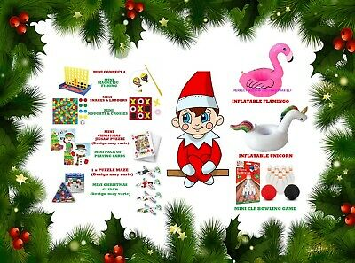 Elf Games Bundles Props Accessories On The Shelf for the Naughty Christmas Elf