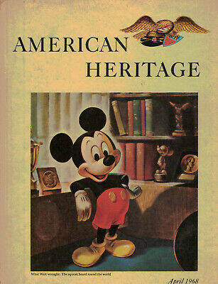 Mickey Mouse & Walt Disney: AMERICAN HERITAGE Magazine: 12-page article, 1968