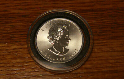 2015 $5 Canadian Silver Maple Leaf 1oz. Maple Privy Brilliant Uncirculated Coin
