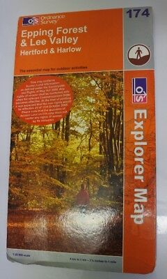 Epping Forest and Lee Valley (OS Explorer Map Series), Ordnance Survey