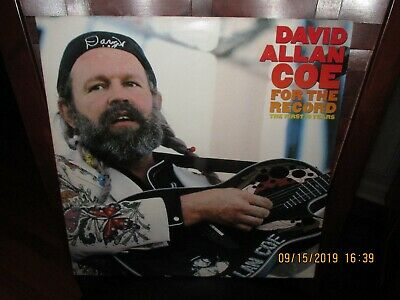 David Allan Coe - For The Record The First Ten Years vinyl