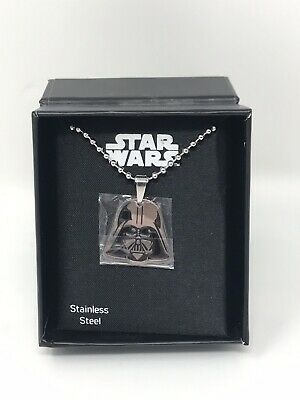 New Star Wars Jewelry, Darth Vader Pendant , Charm, Necklace, Stainless Steel