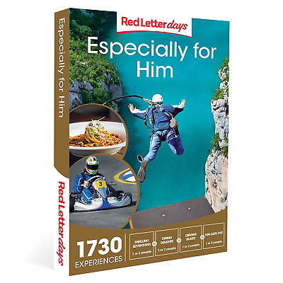 Red Letter Days Especially for Him Gift Voucher – 1730 gift experiences for him
