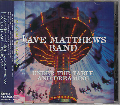 Dave Matthews Band / Under The Table And Dreaming Japan Cd Oop W/Obi +1B/T