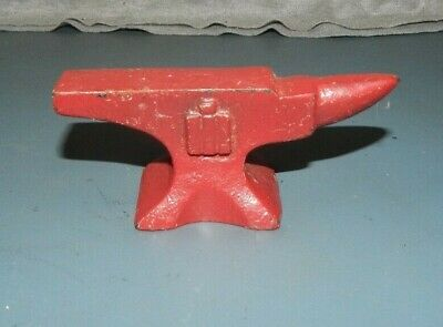 IH INTERNATIONAL HARVESTER Farmall PROMO ANVIL PAPERWEIGHT ADVERTISING Cast Iron