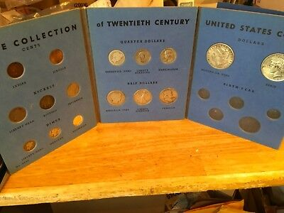 16 Coin Type Collection of US 20th Century Coins Album Set - Better Dates