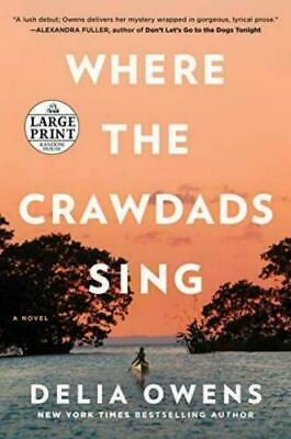 Where the Crawdads Sing Paperback – Large Print, (1984827618)