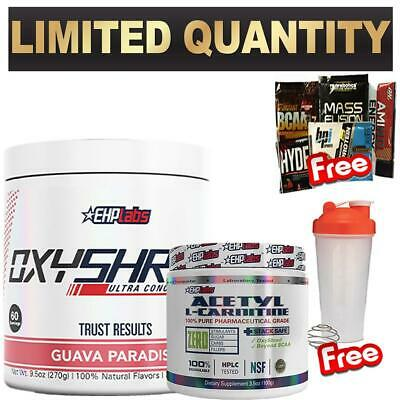 Ehplabs Oxyshred Thermogenic Fat Burning & Lcarnitine Oxy Shred Weight Loss