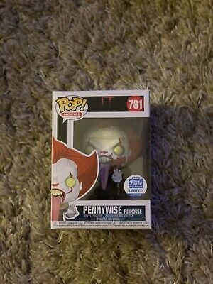 Funko Pop Pennywise Funhouse Blood Spatter Funko Shop Exclusive Limited Edition