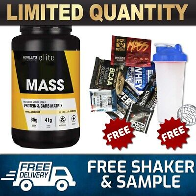 Horleys Elite Mass  // Weight Gainer Protein Awesome Serious Bulk