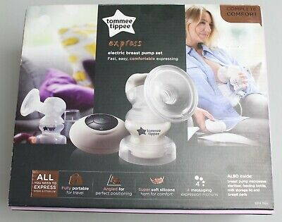 Tommee Tippee Express Electric Breast Pump Set - New!