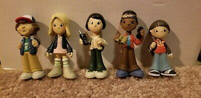 Funko Mystery Minis Stranger Things Lot of 5 Mike Will Lucas Eleven Dustin