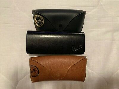 Ray Ban and Persol Sunglass Cases