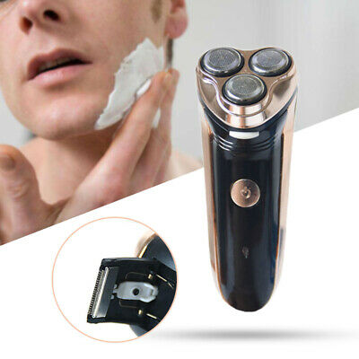 Rotary 3D Floating Head Rechargeable Washable Men's Electric Shaver Clipper