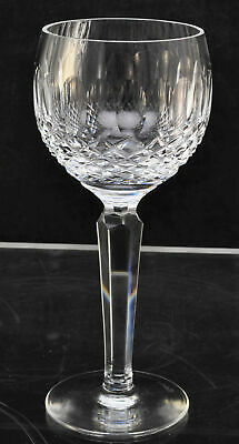 Waterford Cut Crystal Colleen 7 1/2 Inch Wine Hock Glass Slightly As Is