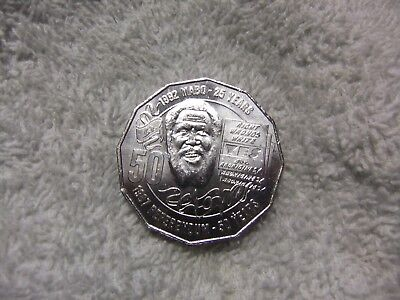 1992  - 2017   **  mabo  **   25  years  anniv.  50 cent coin .
