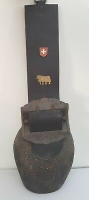 Large Antique Swiss Cow Bell