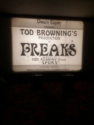 16mm feature-FREAKS-,english sound