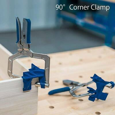 """UK 90 Degree Corner Clamp Right Angle Clamp for Kreg Jigs Miter """" T"""" Joints Tool"""