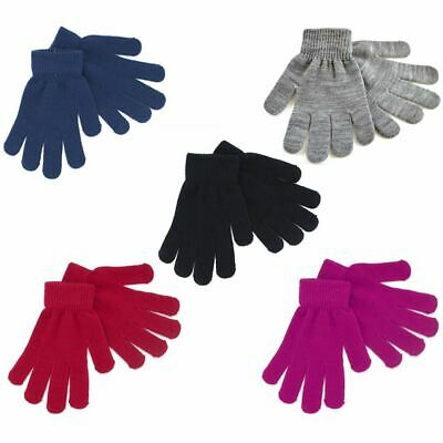 3 Pairs Womens Ladies Undercover Thermal Magic Winter Gloves