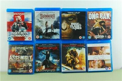 Job Lot Of 13x Untested Various Blu-Ray DVDs Ice Age, Black Hawk Down & More