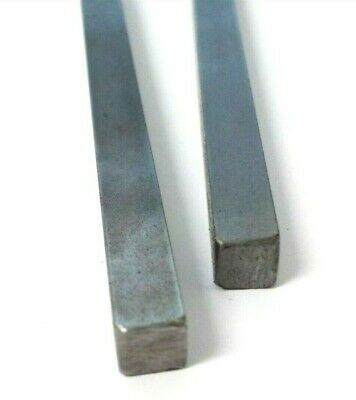 Key steel. Square bar. 8mm x 8mm. Rod. Length; 300mm. *Top Quality!