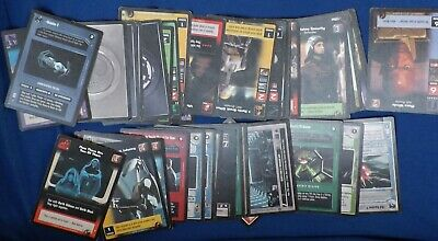 Lot Of 42 Star Wars Trading / Gaming Cards From Year 2000