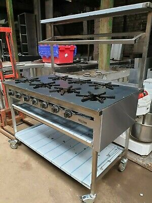 Soltan 7 Burner cooker fast for restaurant and takeaway